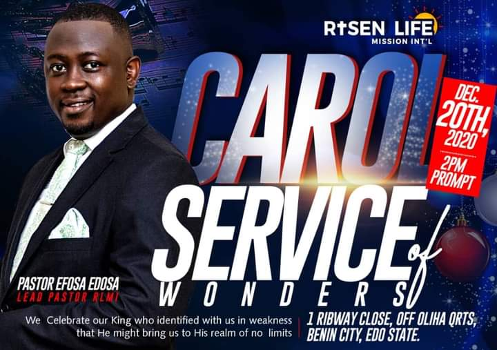 Carol Service of Wonders 2020